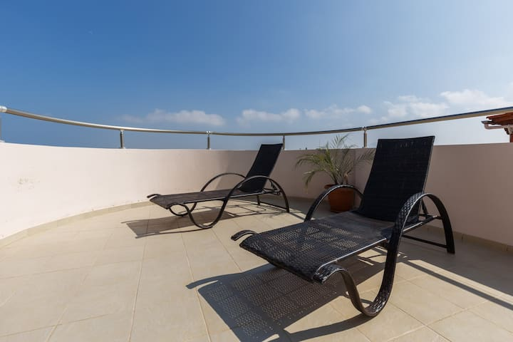 Suite apartment in front of Ammoudara's beach - Gazi - Appartement