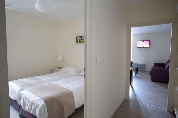 Appartement 2 pièces centre ville - Nuits-Saint-Georges - Lägenhet