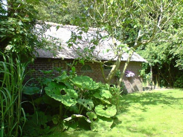 LaVendel zomerhuis met een ruime afgebakende tuin - Den Burg - Mökki
