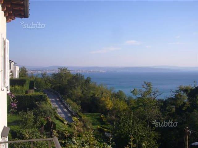 Camera riservata in Villa Liberty a Miramare - Grignano - Villa