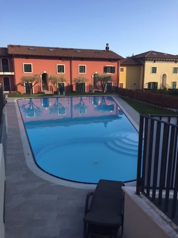 Residence Golf con piscina - Costermano - Appartement
