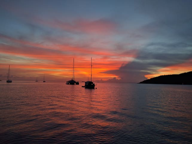 Private Catamaran - St John - 360 degree views! - Cruz Bay - Boot