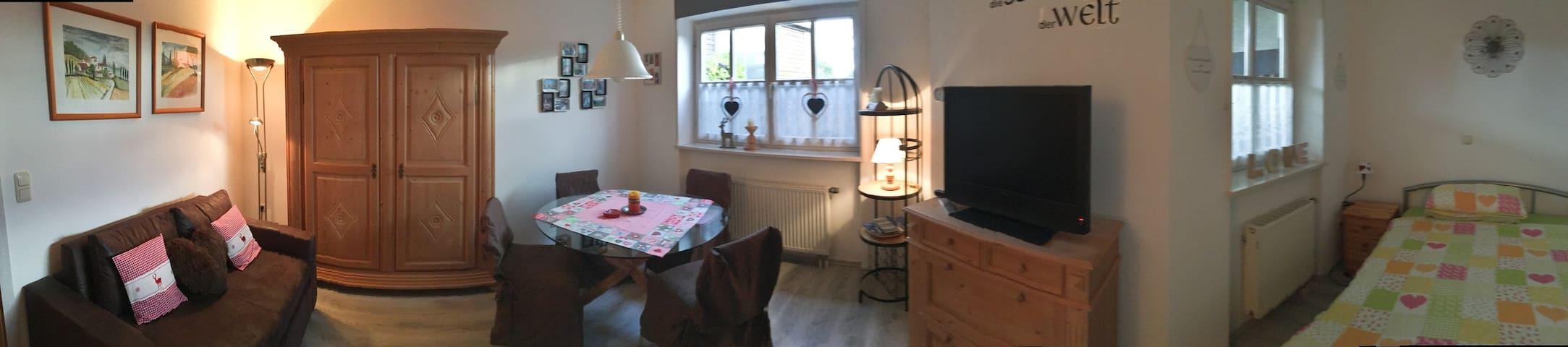 Nettes Apartment im Bayerischen Wald, St. Englmar - Sankt Englmar - Appartement