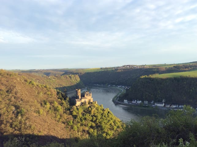 Appartment with view to Loreley   - Patersberg - Talo