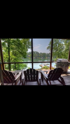 Tellico Lake King Suite with private entrance - Loudon - Casa