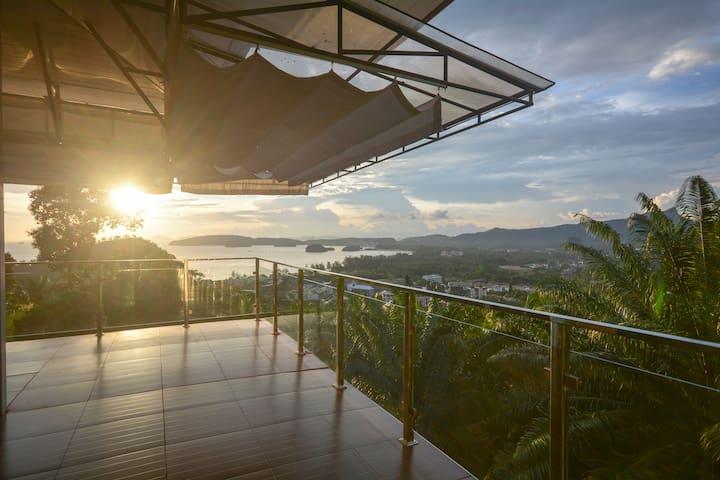 Krabi Mountain Top Villa - Tambon Ao Nang - 一軒家