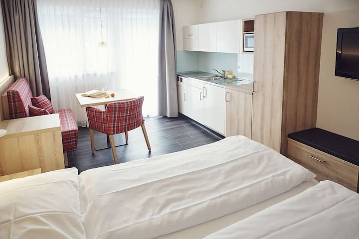 Apartment Solaria Serviced Apartments for 2 persons - Davos - Pis