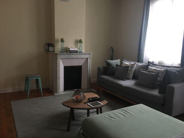 Studio 35 m2 en plein centre ville - Saint-Quentin - Apartament