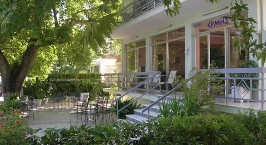 Hotel ERMIS - Ξενοδοχείο ΕΡΜΗΣ - Loutra Ipatis - Apartamento