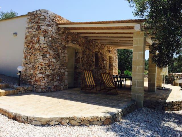 Holiday houses Corte Giulia (La casetta) - Pescoluse - Huis