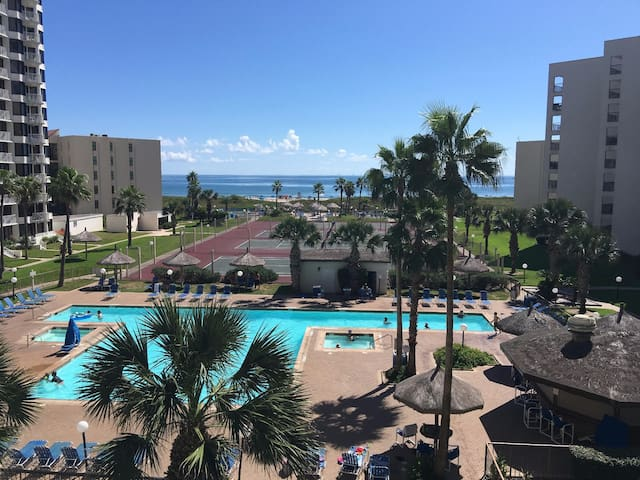 BEACHFRONT + TENNIS + POOL + BEST LOCATION - South Padre Island - Appartement