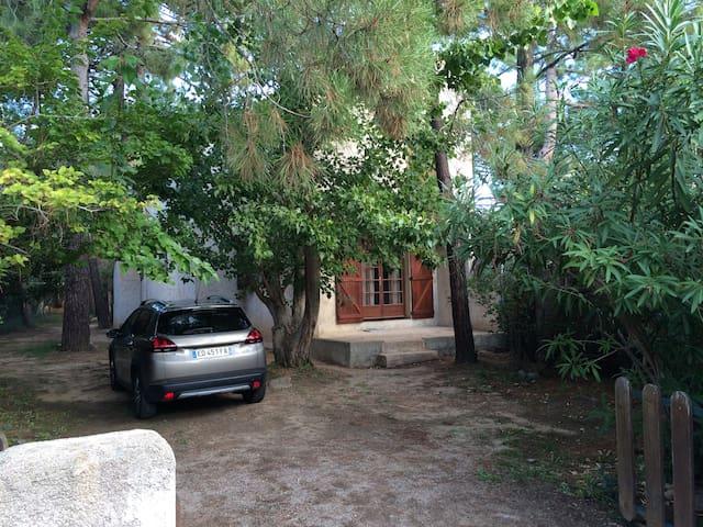 Maison agréable bien équipée  200m de la plage - Lecci