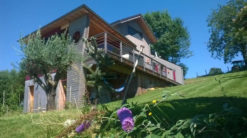 Jolie maison en bois à Aramits (64) - Aramits - Rumah Bumi