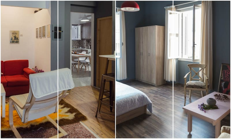 Renovated house with two suite style classy rooms - Iraklio - Hus