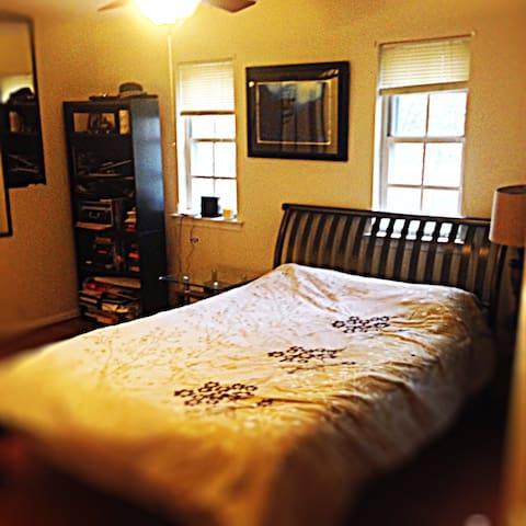 Tip of D.C. Master Bedroom - Silver Spring - Lägenhet