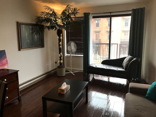 Small private room in St. Laurent Street - Montréal - Appartement