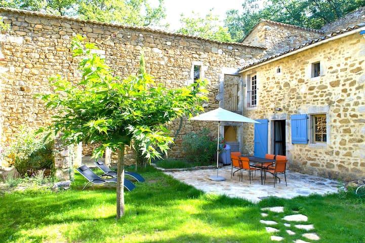 Le mas de Court-maison indépendante dans la forêt - Verfeuil - Casa