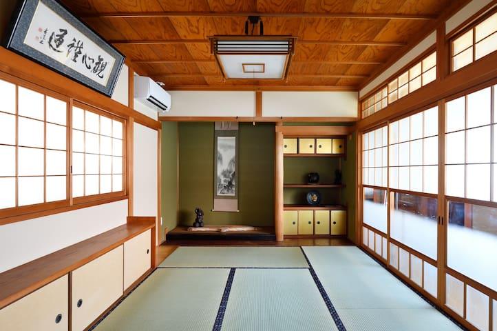 Hinoki house - traditional home - walk to sights - Nara - Talo