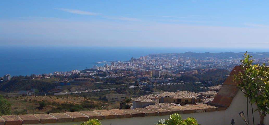 Apartment near Mijas, stunning view - Mijas - Leilighet