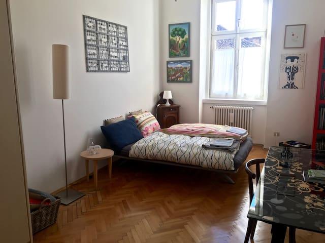 BOLZANO - Well-lit, spacious room in town's center - Bolzano