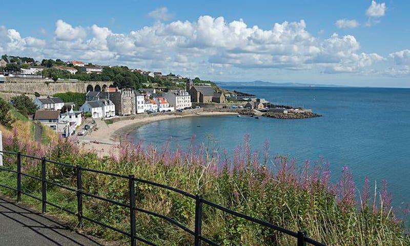 Seaside Views across Firth of Forth & Edinburgh - Kinghorn - Квартира