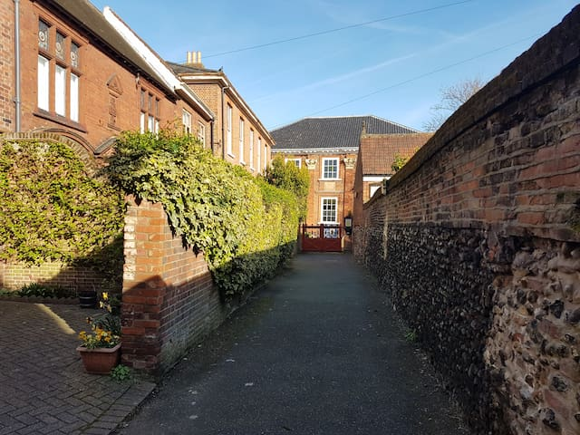 Beautiful Listed Georgian House in centre of city - Norwich - Rumah
