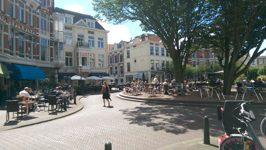 Studio 5 minutes from city center, 15 m from beach - Den Haag - Appartamento
