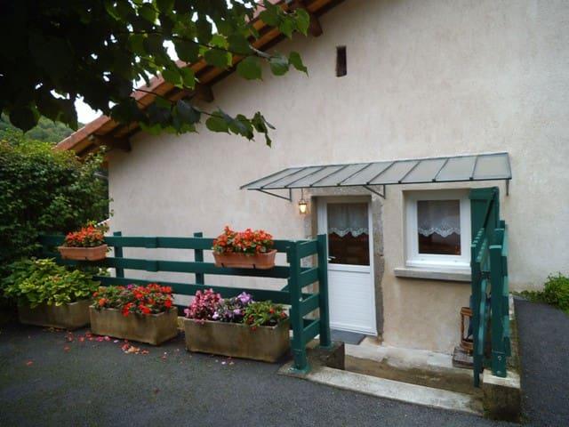 GITE MEUBLE A LA CAMPAGNE - Vaux-en-Bugey - Apartamento