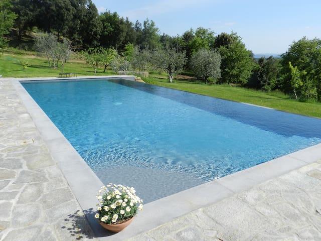 """Casolare """"Il Moro"""" beautiful Tuscan house - Monte San Savino - Casa de vacaciones"""