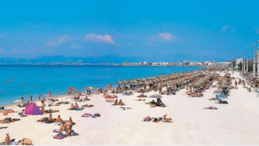 One bedroom apartment with a wiew to the sea - Palma de Mallorca