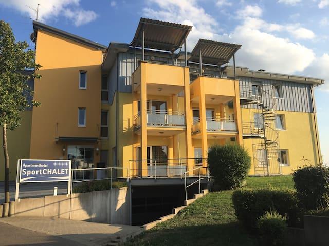 Apartmenthaus SportCHALET - 3-Zimmer-Apartment - Bad Dürrheim - Leilighet