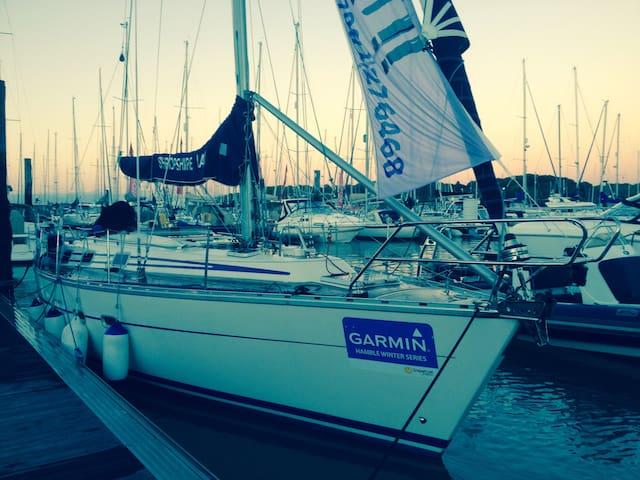 38ft sailing yacht. Port hamble8bed - Hampshire - Båt