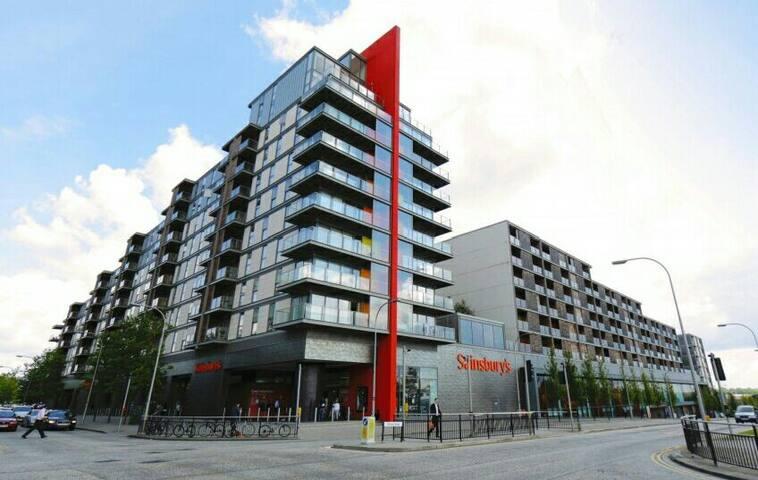 Luxury TWO beds Vizion Apartment - 米爾頓凱恩斯