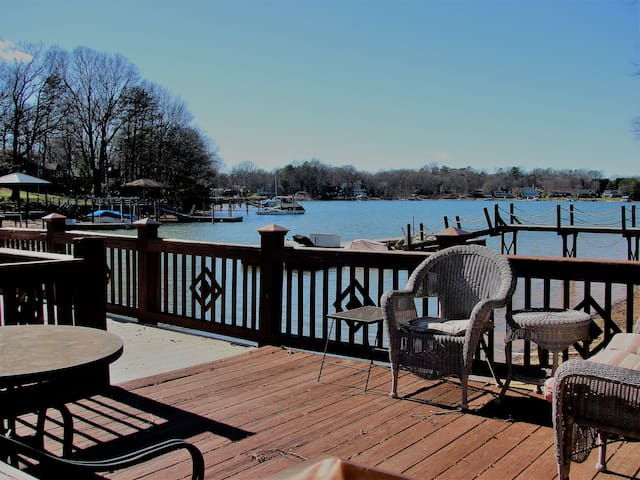 Serene Waterfront w/ private dock! - Cornelius