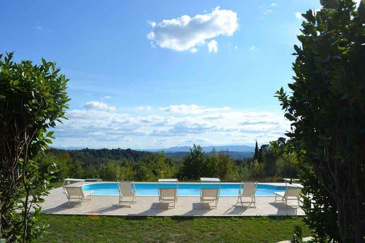 Il Rosino Alto - Lovely Farmhouse - Palaia