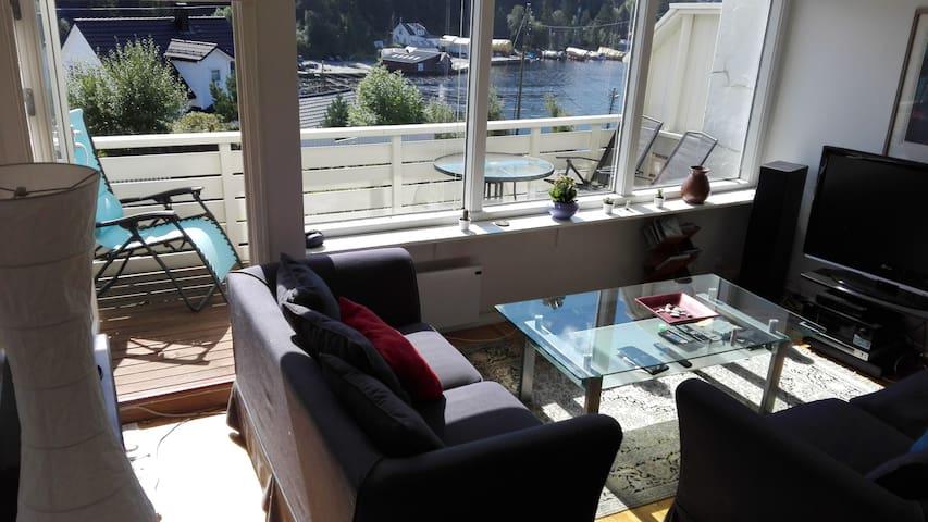 Beautiful sea view Straume Bridge - room B - Bergen