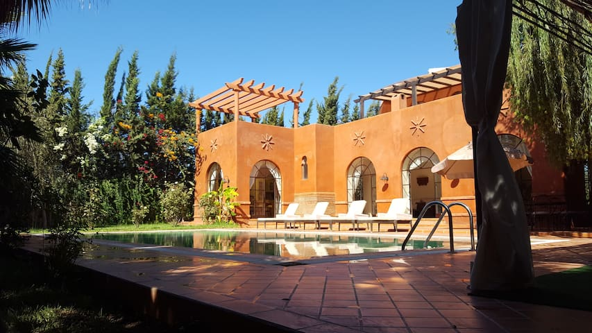 un havre de paix au milieu des arganiers - Marrakesch