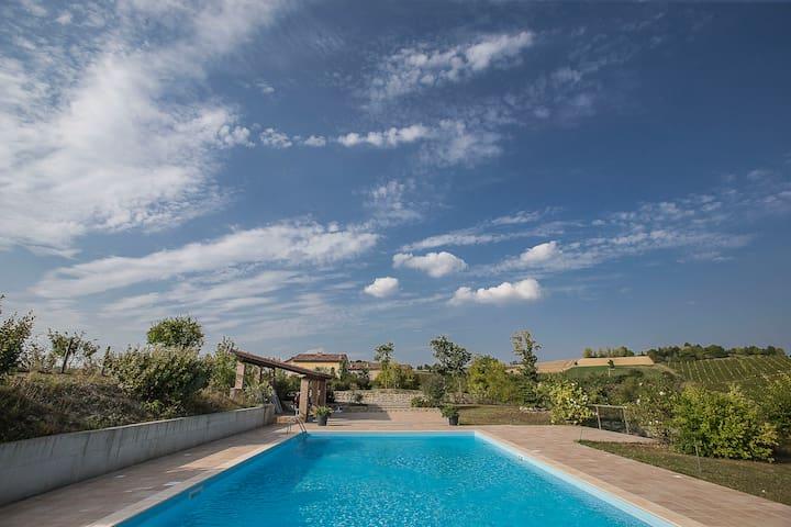 casa per soggiorni di relax e natura - Moncalvo