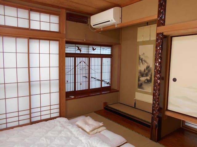 ★下宿★at ease in Tatami Room, as if at your own home - Kashiwa-shi - 獨棟
