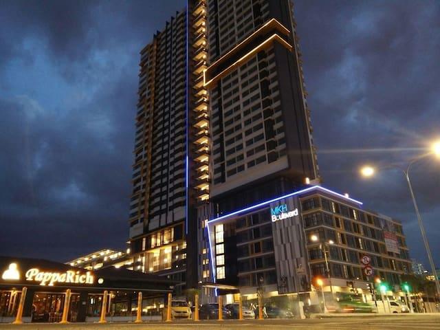 'Nik' Boulevard Guesthouse - Kajang - Lägenhet