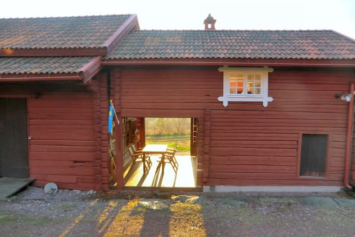 Guesthouse on picturesque dala cottage - Leksand - Cabin