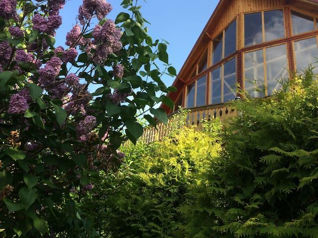 Carpathian Log Home 2, spectacular villa in Bran - Predeluț