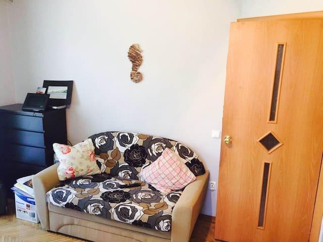 Уютная квартира на Черной Речке - Sankt-Peterburg - Appartement