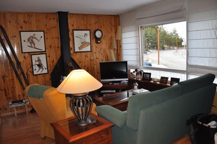 Apartamento a pie de pistas de Ski - Alp - Leilighet