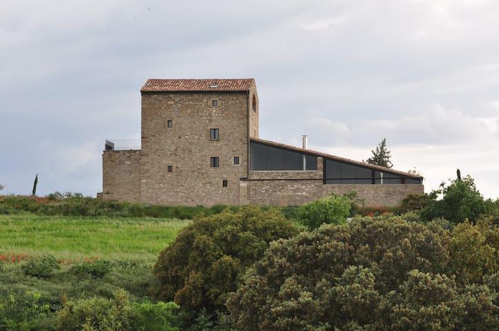 """Casa rural gran, 15 pers. al camp """"Espai Natural"""" - Tárrega - Huis"""