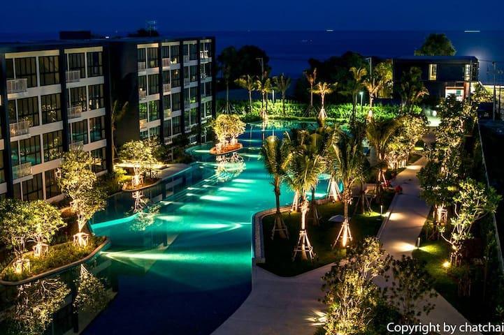 Baan Thew Talay  Blue Sapphire !!!! - Cha-am - Apartamento