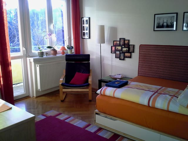 Bright double room for rent in the heart of Buda - Budapest - Lägenhet