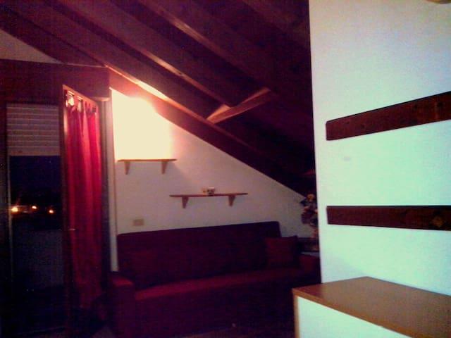 Mansarda con terrazza solarium wifi - Novara - Leilighet