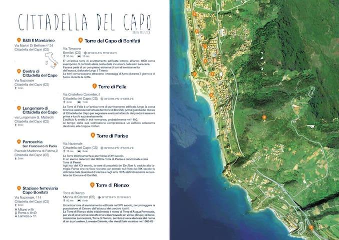 B&B Cittadella del Capo Calabria - Cittadella del Capo - Ev