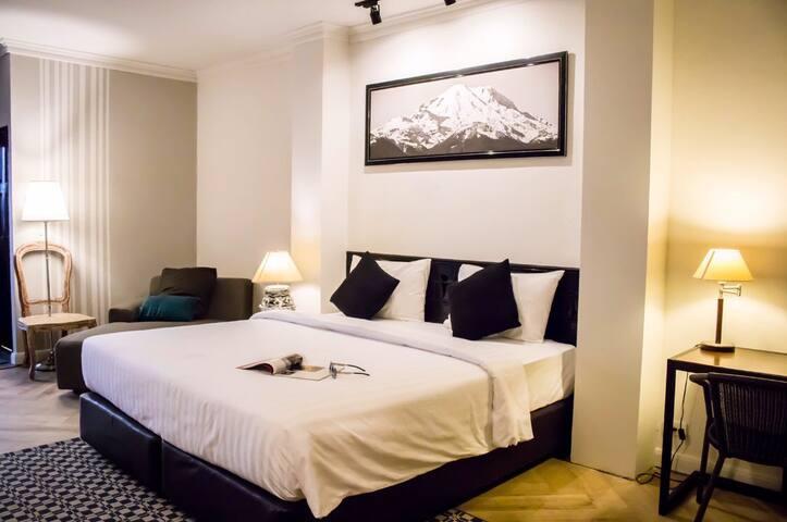 YUU HOTEL @ UBONRATCHATANI-VIP Double Room - Ubon Ratchathani - Hotel butik